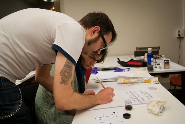Seeway, formación tipografía y lettering