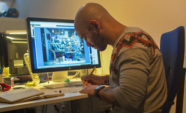 Sergio del Puerto, fundador del estudio Serial Cut