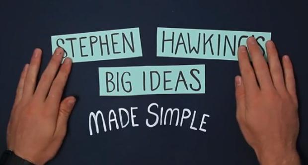 ¿Cómo funciona el Universo? La teoría de Stephen Hawking explicada en 150 segundos de animación