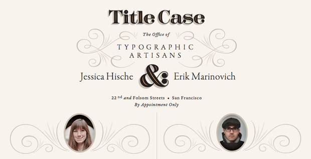 Title Case
