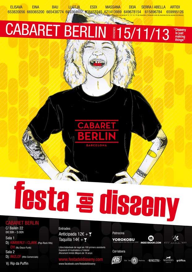 Festa del Disseny 2013, cartel