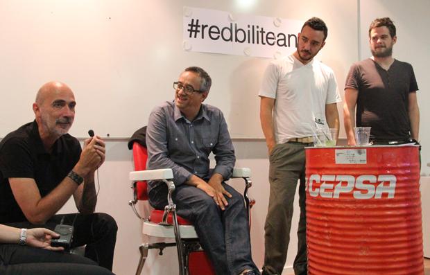 creatividad, taller en las oficinas de Redbility