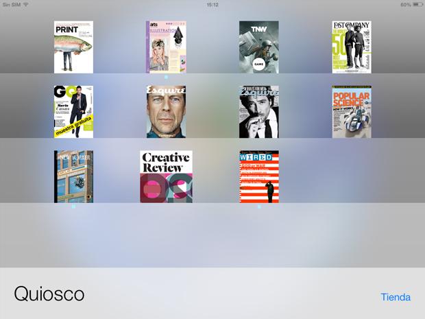 Revistas para tabletas - Quiosco