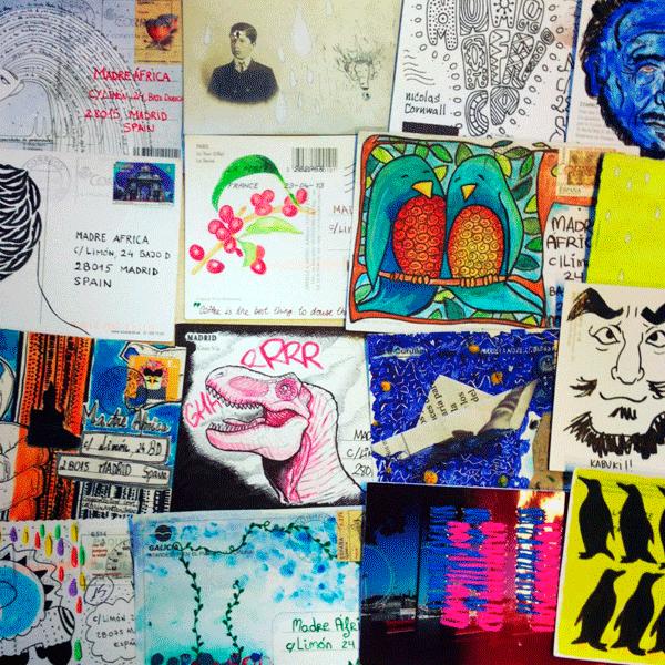 s.m.a.l.l. proyecto de Mail Art solidario para la educación