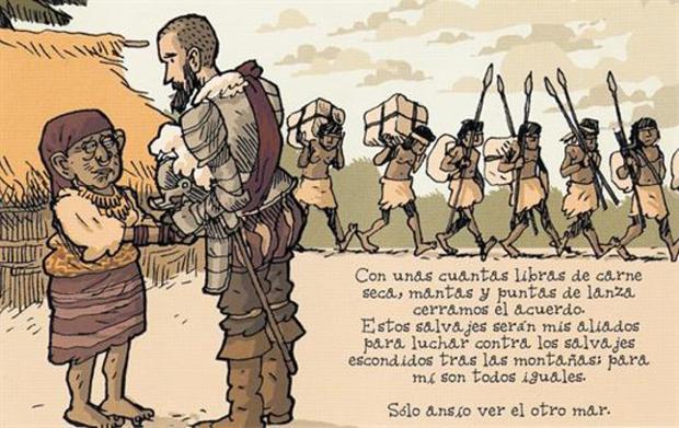 Alfonso Zapico, viñeta de 'El otro mar'