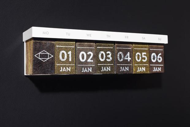 ADCE13, Gold - Tea Calendar
