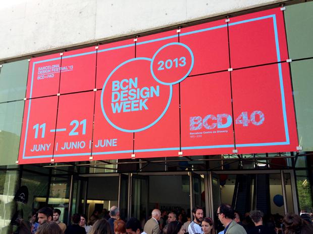 Clase bcn, identidad gráfica para BCN Desing Week