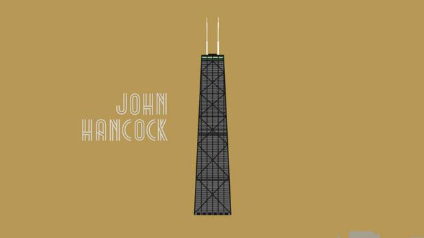 Chicago, homenaje animado a cinco de sus rascacielos emblemáticos
