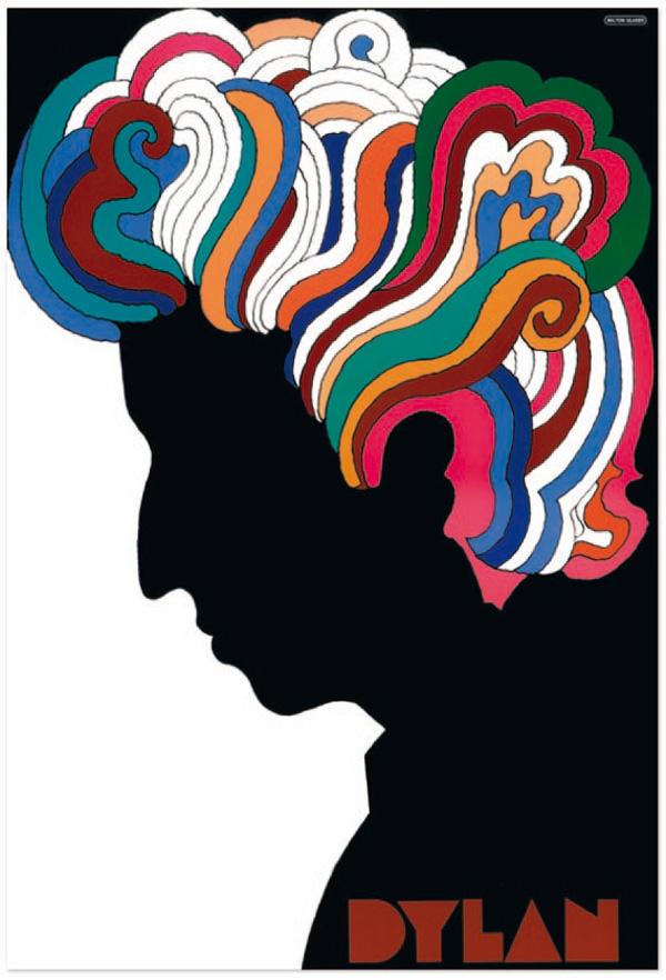 01 Dylanposter Milton Glaser Los 10 posters más admirados por su diseño en 50 años de historia
