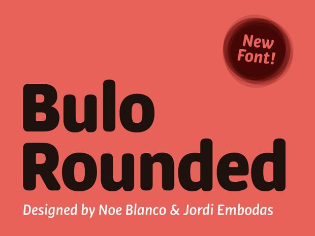 Jordi Embodas y Noe Blanco diseñan Bulo Rounded