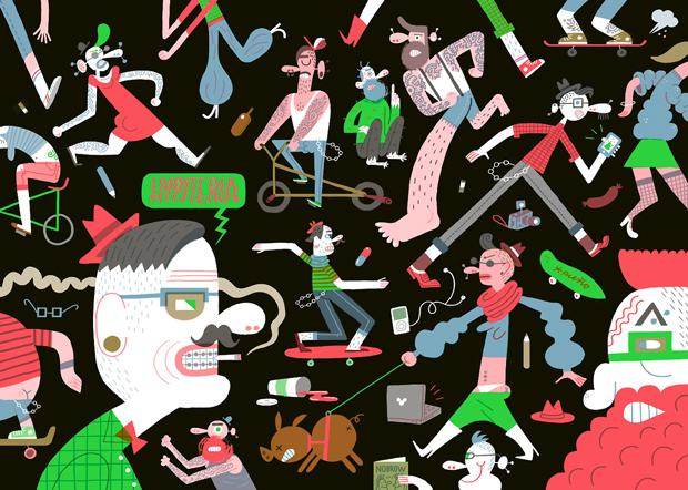 ilustración de Puño