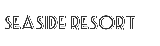 Seaside Resort Font