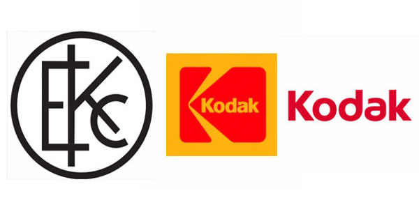Kodak, evolución del logo