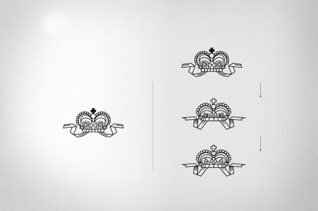 Nordic Mist, evolución rediseño de la corona en el logo