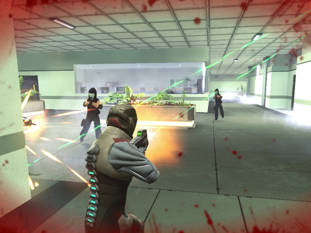 videojuegos, PS firefight