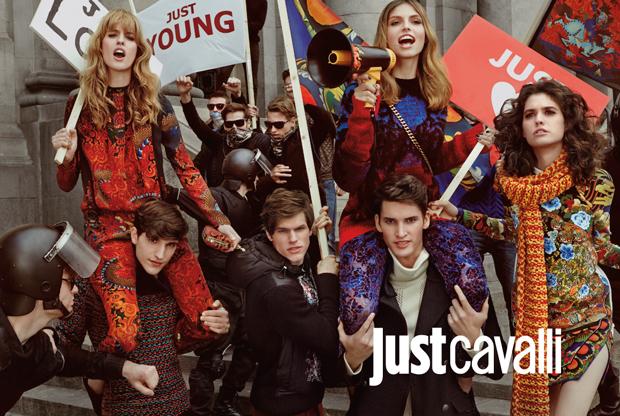 Just Cavalli, campaña otoño-invierno 15M