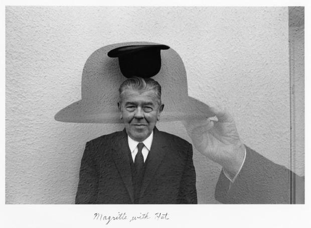 Duane Michals, retrato Magritte