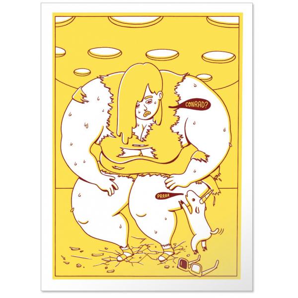 Hilar fino, póster de Brosmind serie edición limitada