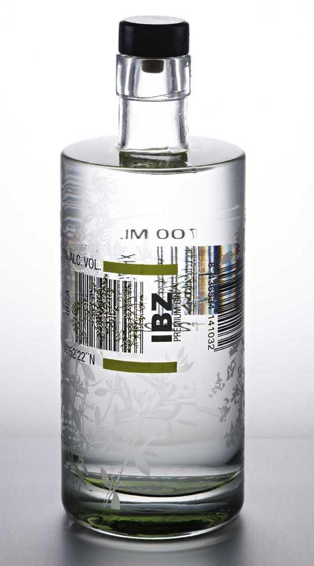 IBZ Ginebra Premium, branding diseñado por Estudio Pedro González