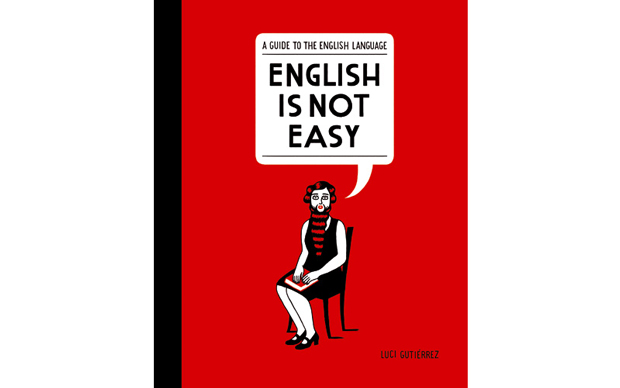 Luci Gutiérrez, portada libro English Is Not Easy