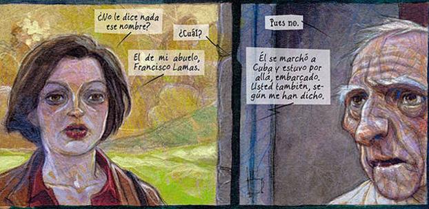 Miguelanxo Prado, viñetas cómic 'Ardalén'