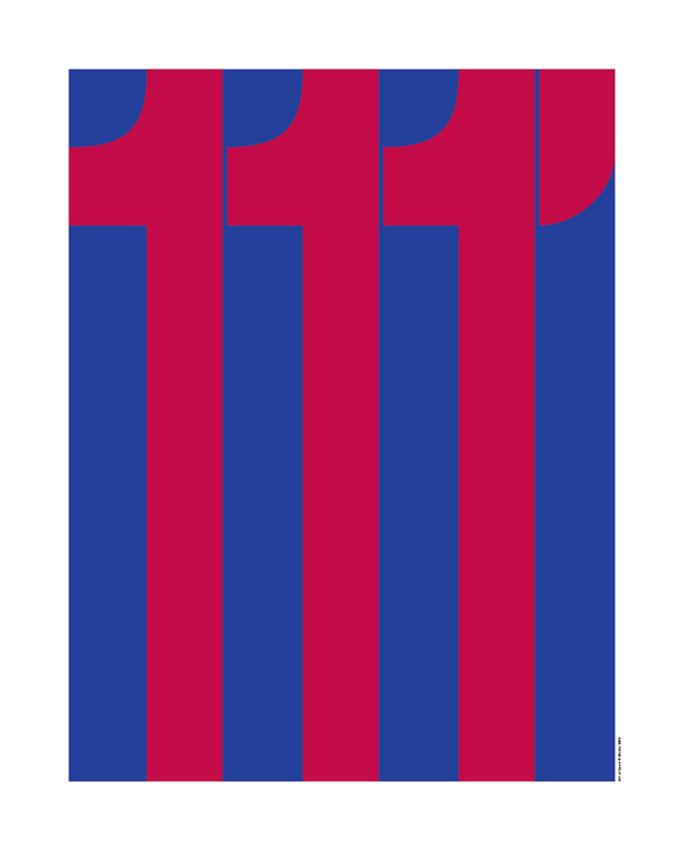 Mucho, póster Barça, Art of sport
