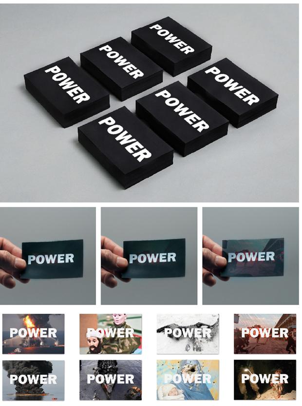 Power, tarjetas del PFC de Guillem Casasús