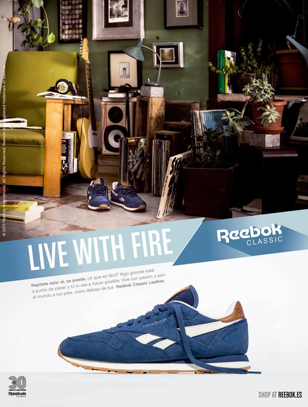 Reebok Classics, pieza gráfica de la nueva campaña