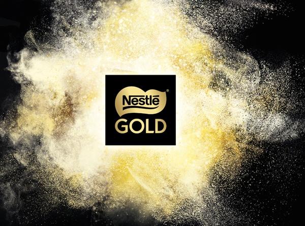 Nueva identidad visual de Nestlé Gold