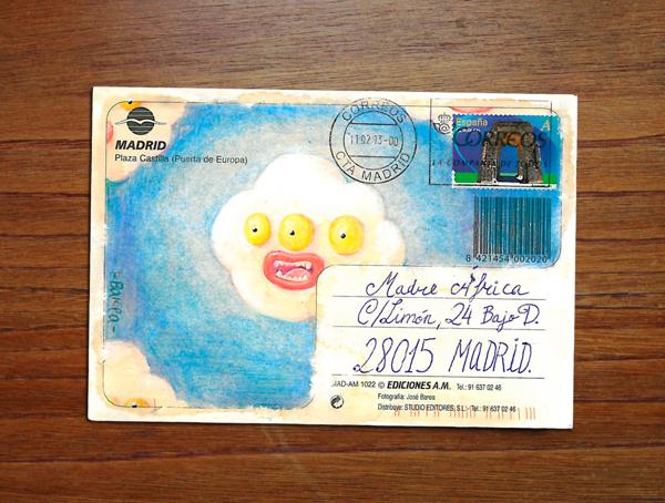 s.m.a.l.l. proyecto de Mail Art solidario por la educación