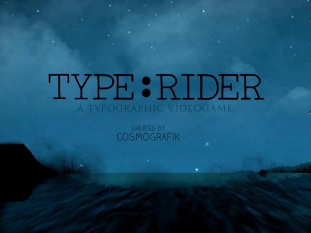 Type:Rider, título presentación