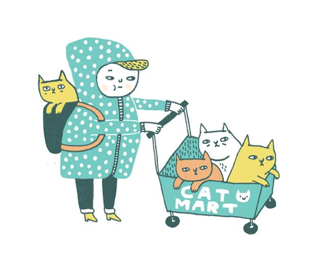 Gemma Correll, ilustración