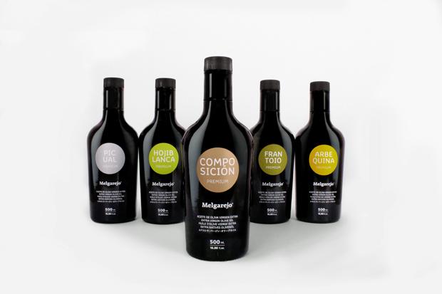 Premium Melgarejo, packaging botellas