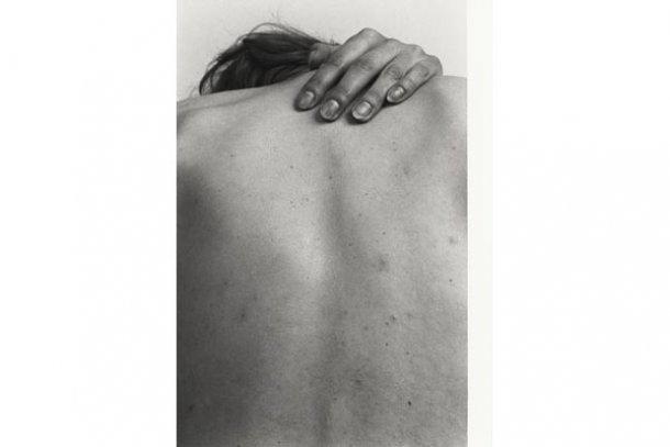 cuerpo de espaldas desnudo, Zbigniew-Dlubak