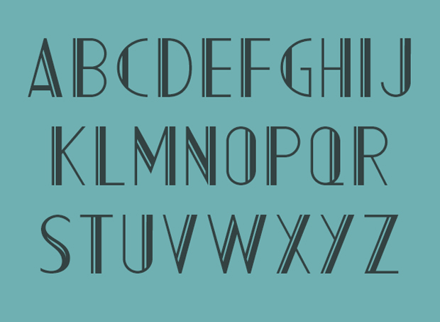 AC Mountain, regular letters
