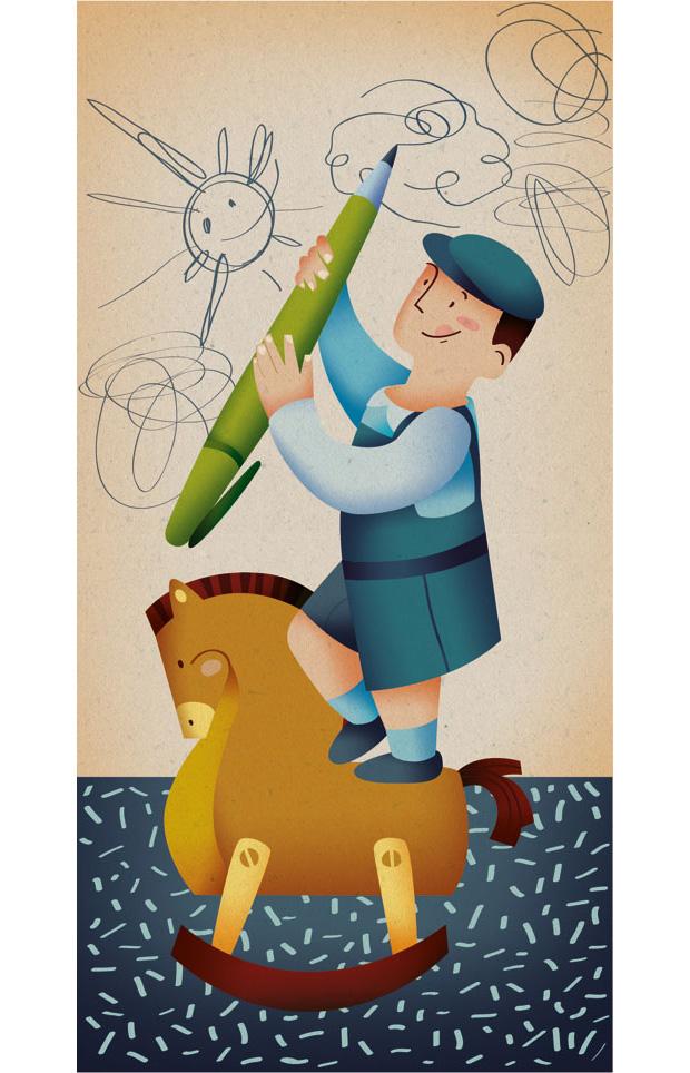 Calendario de las predicciones erróneas, ilustración de Marta Chaves