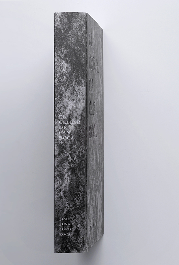 El Celler de Can Roca, lomo libro