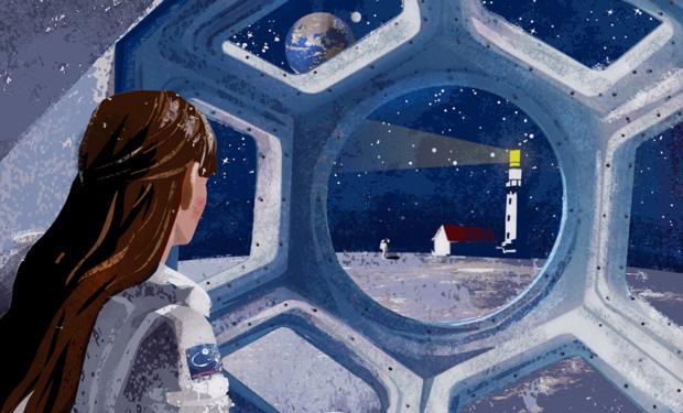 Ilustración de Eva Vázquez 'El islote de la estrella' Carmen Riera