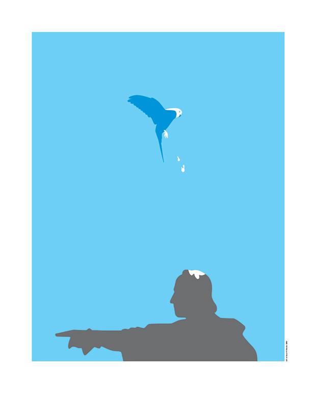 Mucho, Art of Sport, póster periquitos