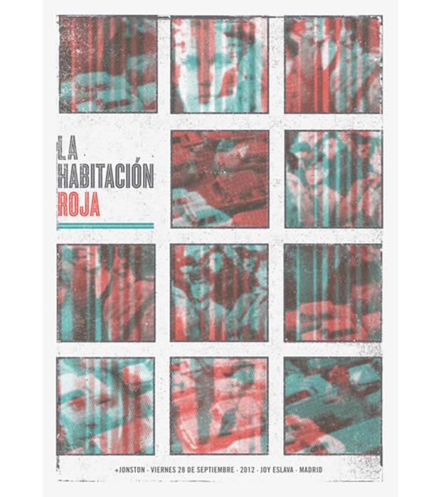 Munster Studio, cartel de La Habitación Roja (Madrid)