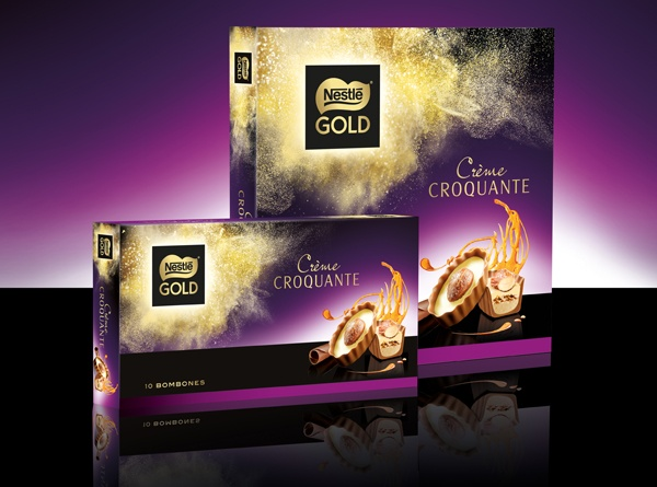 Nueva identidad visual y packaging de Nestlé Gold