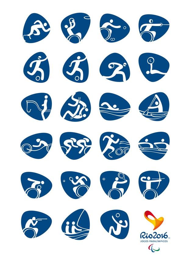 Pictogramas Juegos Paralímpicos Río 2016