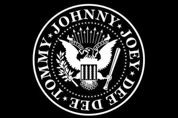 logo de los Ramones diseñado por Arturo Vega
