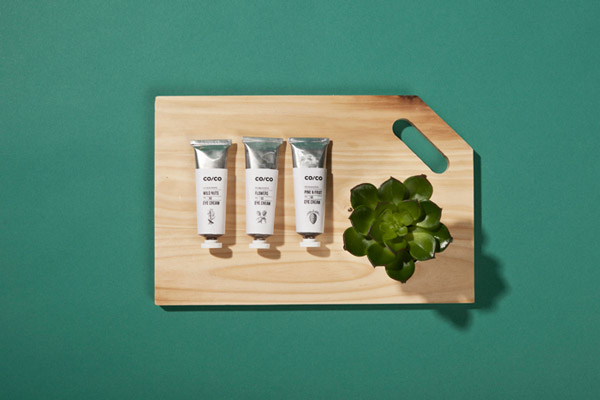 Co/Co, packaging e identidad visual de Tatabi Studio