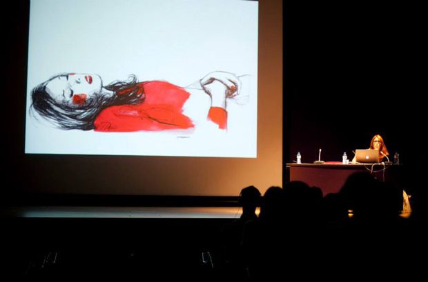 Ilustrafic, conferencia Paula Bonet