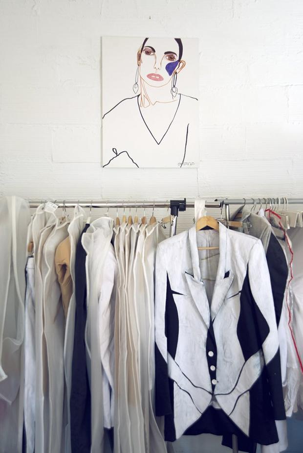 ilustración en moda por Lara Costafreda