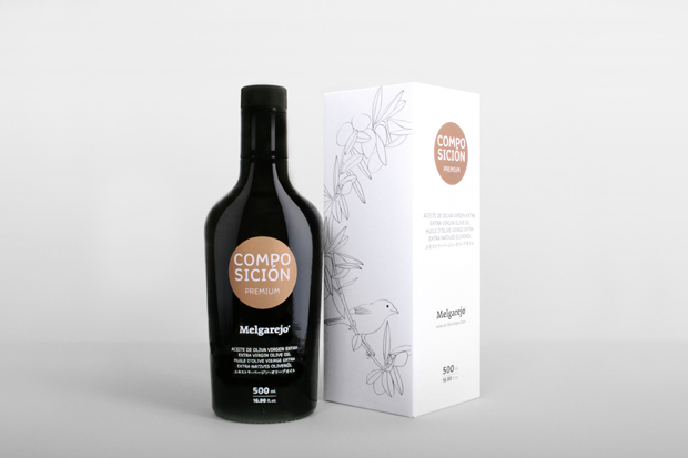 Premium Melgarejo, detalle packaging