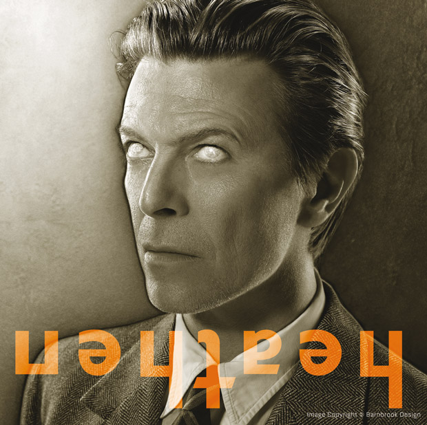 Barnbrook, portada David Bowie
