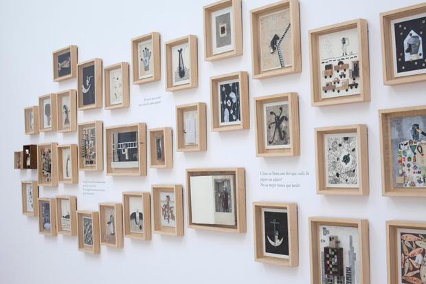 Exposición Pensar con las manos, Isidro Ferrer
