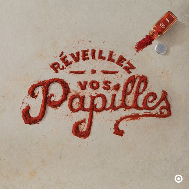 Food Typography, by Marmalade Bleue